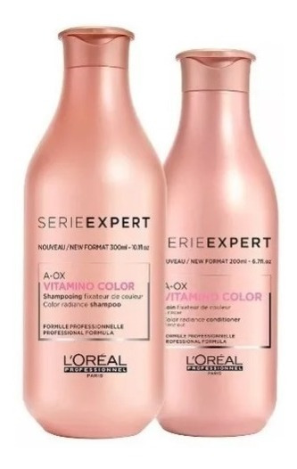 Loreal Kit Shampoo Acondicionador Absolut Vitamino Inforcer