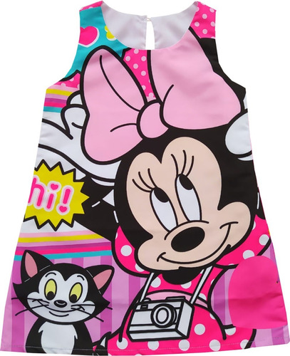 Vestidos Tipo Bata Minnie Mouse - Mc