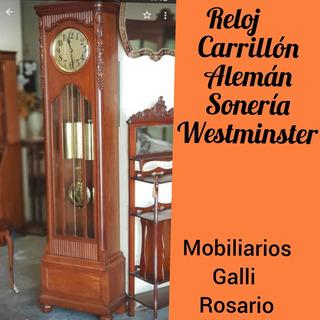 Galli Reloj Pie Alemán Carrillón Sonería Westminster Video