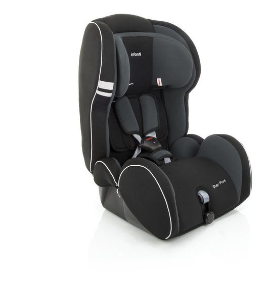 Nova Cadeirinha Infantil Star Plus Onix Cinza Infanti Ce021f