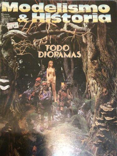 Imagen 1 de 3 de Revista Modelismo & Historia Todo Dioramas N°36/36 Oct/nov85