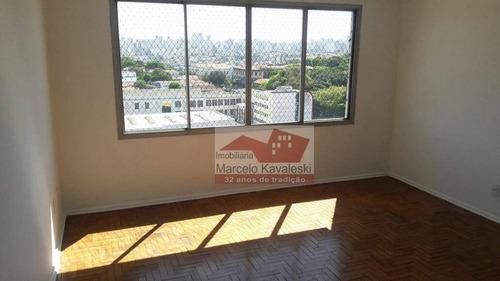 Apartamento Com 3 Dormitórios, 85 M² - Venda Por R$ 480.000,00 Ou Aluguel Por R$ 1.700,00 - Ipiranga - São Paulo/sp - Ap2465