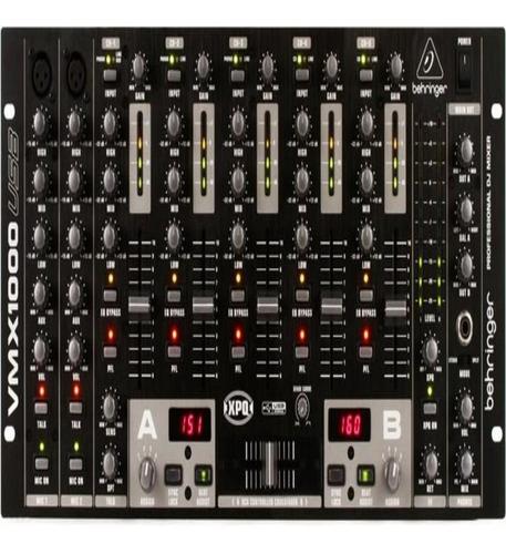 Imagen 1 de 1 de Behringer Pro Mixer Vmx1000usb 5-channel Dj Mixer