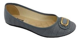Sapatilha Moleca Verniz Croco Neo Jeans 670 Ref: 5642.102