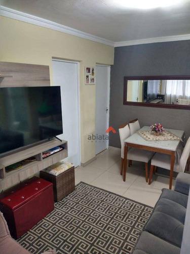 Imagem 1 de 21 de Apartamento Com 2 Dormitórios À Venda, 52 M² Por R$ 192.000,00 - Parque Das Cigarreiras - Taboão Da Serra/sp - Ap0517