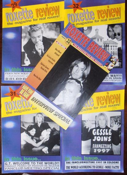 8 Revistas Banda Roxette Importadas