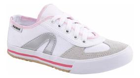 Tenis Rainha Branco Com Rosa / Promoção