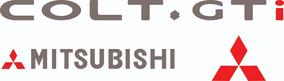 Adesivo Mitsubishi Colt Gti Glxi
