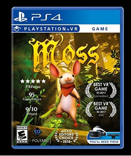 Moss Playstation 4