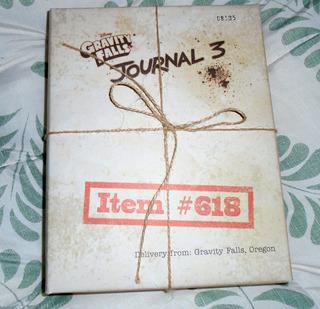 Diario 3 Gravity Falls Edicion Especial Limitada. #01495