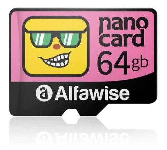 Kit 2x Cartão De Memória Alfawise 64 Gb Classe 10 Original
