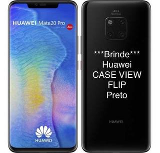 Huawei Mate 20 Pro 128gb/6gb Brinde Case View Flip Preto