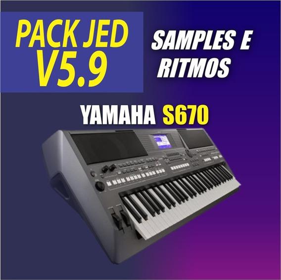 Pack Jed V5.9 + Ritmos (atuais) + Vinhetas MultiPad 2019