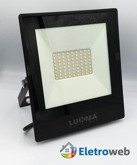 Refletor Led Alta Proteção Led 50w Ip67 Branco Frio Bivolt