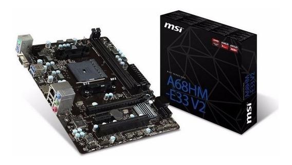 Kit Upgrade Gamer Msi + Fusion A4 6300 Box + Ssd 120gb