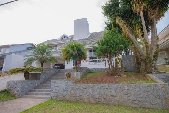 Casa Com 4 Dormitórios À Venda, 200 M² - Pineville - Pinhais/pr - Ca0094