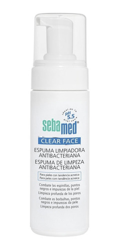 Espuma Limpiadora Facial Sebamed Clear Face 150 Ml
