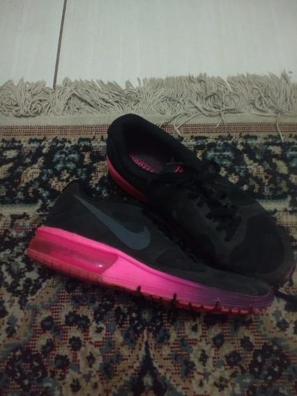 Tênis Nike Air Max Sequent Feminino Preto, Rosa E Roxo 40