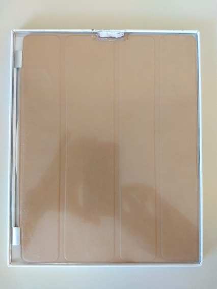 Apple Smart Cover De Couro Bronze Original P/ iPad 2, 3 E 4