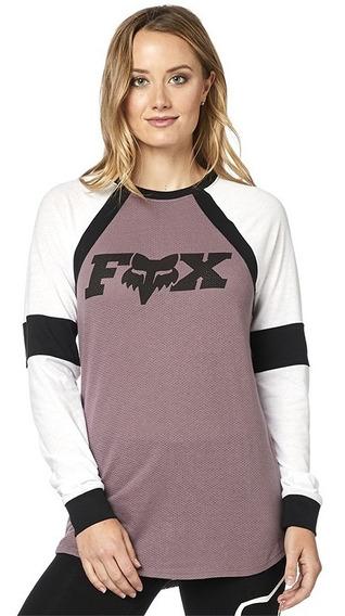 Playera Fox Ls All Time Para Mujer