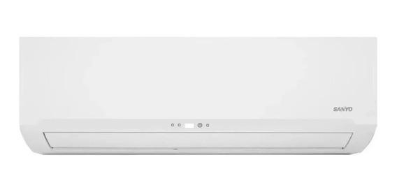 Aire acondicionado Sanyo split frío/calor 4300 frigorías blanco KCS50HA4BN