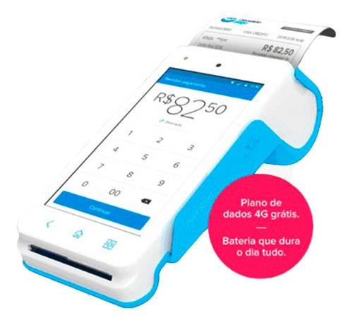 Mercadopago Point Smart 4g Nuevo Posnet Qr Tactil Envio Grat