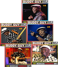Buddy Guy Discografia Completa 63 Cd 705 Músicas