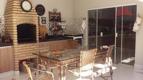 Imagem 1 de 8 de Casa Residencial À Venda, Residencial Imigrantes, Nova Odessa. - Ca1582