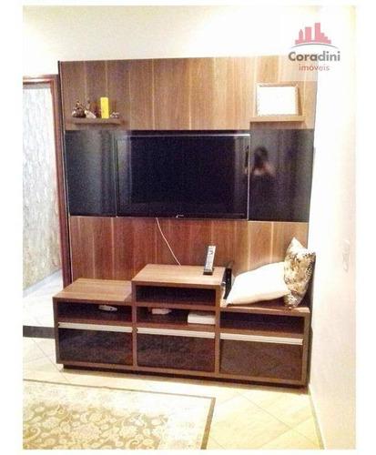 Imagem 1 de 24 de Casa Com 2 Dormitórios À Venda, 143 M² Por R$ 345.000 - Santa Cruz - Americana/sp - Ca0967