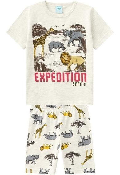 Pijama Infantil Kyly Menino Safari