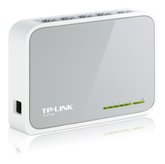 Switch Hub 5 Puertos Tp Link Tl Sf1005d Lan 10/100 Mbps Gtia