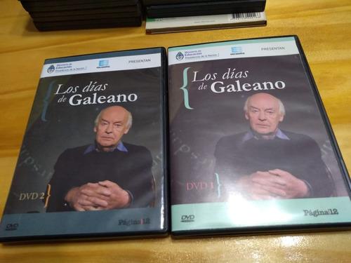 Los Días De Galeano - Dvd X 2 - Encuentro, 2013 - U