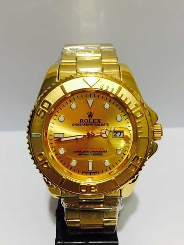 Relógio Submariner Yacht-master Gold