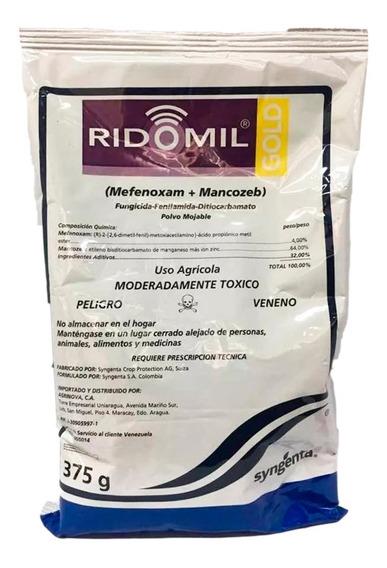 Ridomil Gold Fungicida X 375 Gr Syngenta