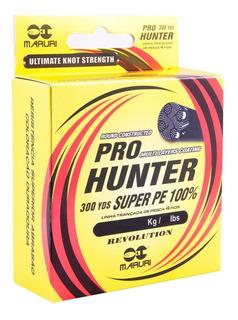 Linha Multifilamento Maruri 4x Pro Hunter 0.20mm = 33lb/274m