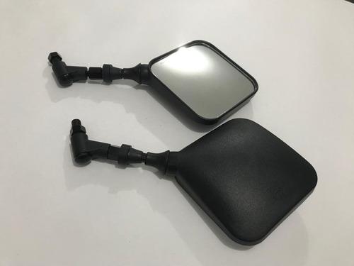 Espejos Retrovisores Suzuki Dr 200 350 650 Cuadrados Par