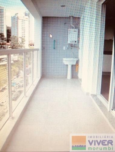 Imagem 1 de 11 de Conceito De Flat,proximo Aos Shoppings,pto Para Morar - Nm4362