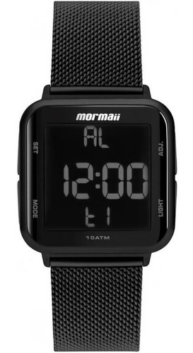 Relógio Digital Mormaii Masculino - Mo66008p Preto