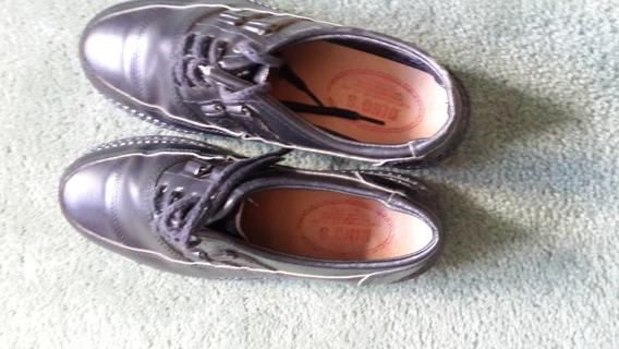 Zapato De Cuero N:41