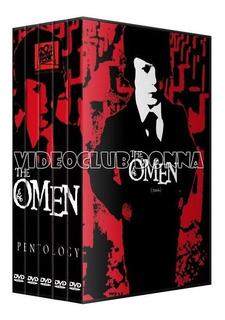 La Profecia The Omen Saga Colección Completa Dvd Latino Pack