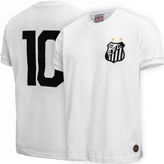 Camisa Santos Retrô 1969 Milésimo Gol Pelé Original
