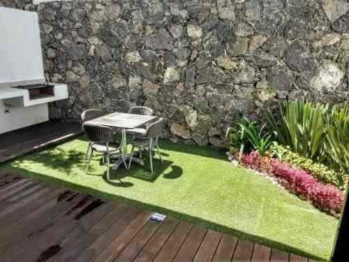 En Renta Casa En Zibatá, 3 Recs, Una En Pb, Jardín, Alberca.