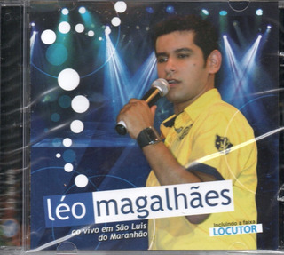 Cd Léo Magalhães - Ao Vivo Em São Luis Do Maranhão