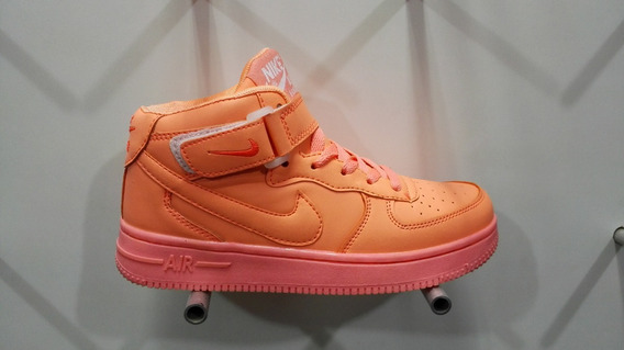 Zapatos Nike Air For One Af1 Corte Alto Damas 36-38 Eur