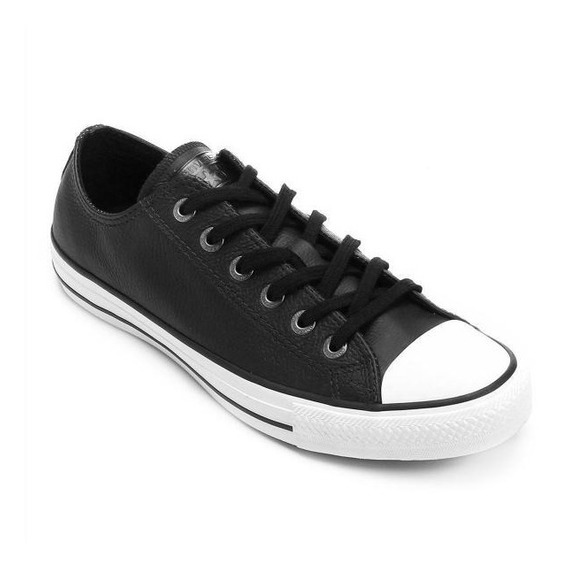 Tênis Converse All-star Couro European Preto Ct04480002