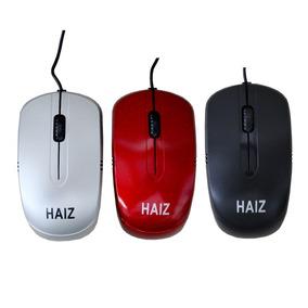 Mouse Ópticol Com Fio Usb Notebook E Pc Haiz Hz-016 Nf