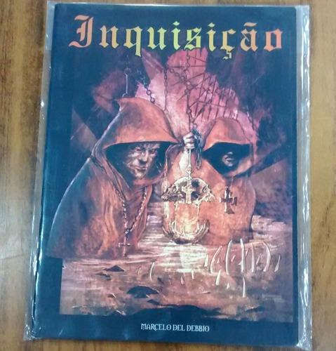 Livro Rpg Inquisição Marcelo Del Debbio