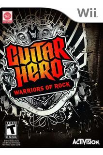 Guitar Hero Warriors Of Rock Wii Nuevo Sellado - Juego Fisic
