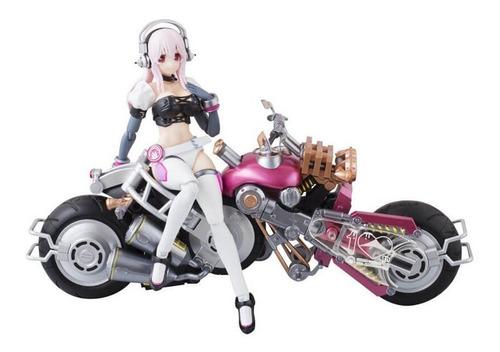 Bandai Super Sonico With Super Bike Robo Original