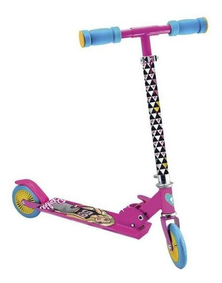 Patinete Fabuloso Barbie 6924-0 Fun - Rosa